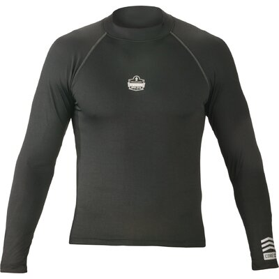 ERGODYNE CORE 6435 Performance Work Wear Long Sleeve - Color: Black, Size: Extra Large at Sears.com