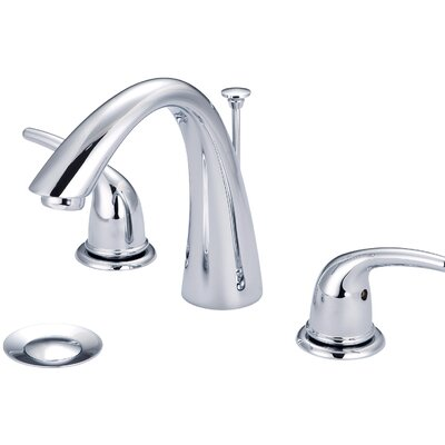 Double Handle Widespread Bathroom Faucet Finish: PVD Brushed Nickel