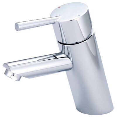 Single Handle Standard Bathroom Faucet with Deck Cover Plate Finish: Chrome