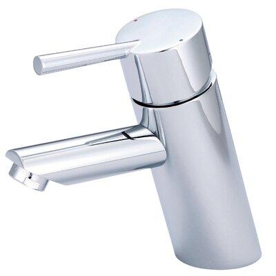 Single Handle Deck Mounted Bathroom Faucet Finish: Chrome L-6051
