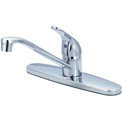 Single Handle Centerset Kitchen Faucet Finish: Chrome