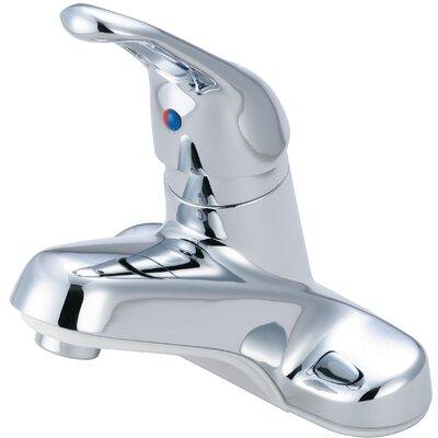 Single Handle Centerset Bathroom Faucet Finish: Chrome
