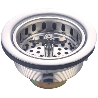 Spin and Seal Basket Strainer