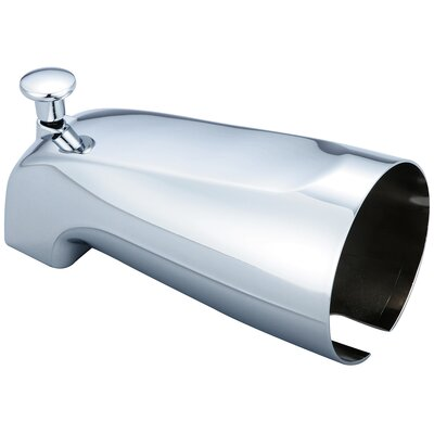 0.5 IPS Diverter Tub Spout Finish: Chrome