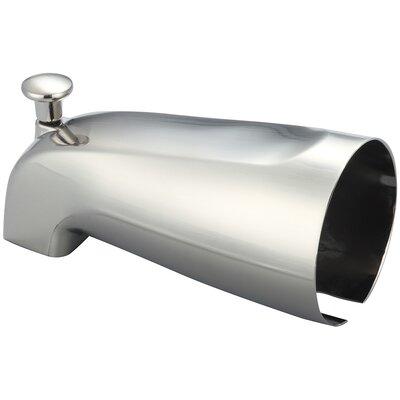 0.5 IPS Diverter Tub Spout Finish: Brushed Nickel