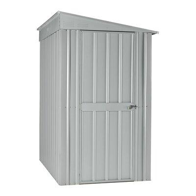 245 cm x 155 cm Gerätehaus LeanTo aus Stahlblech | Garten > Gerätehäuser | Gray | Metall | GlobelIndustries