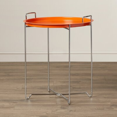 Molly Tray Table Finish: Orange