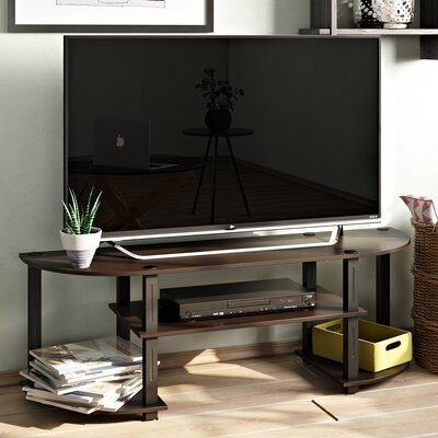 Tracy 47.25 TV Stand Color: Black / Grey