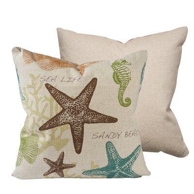 Designer Printed Throw Pillow