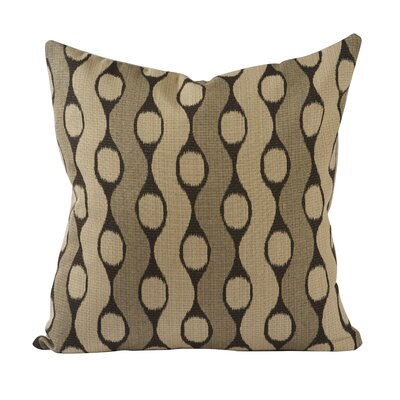 Custom Upholstery Throw Pillow Color: Brown