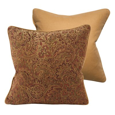 Waterman Upholstery Throw Pillow Size: 18 Square