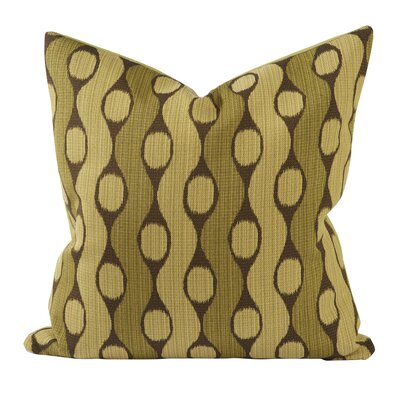 Custom Upholstery Throw Pillow Color: Green