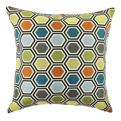 Ogee Throw Pillow Size: 18 H x 18 W x 6 D
