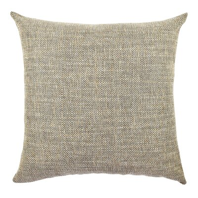 Chenille Throw Pillow Size: 18 H x 18 W x 6 D, Color: Brown