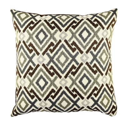 Geometric Throw Pillow Size: 20