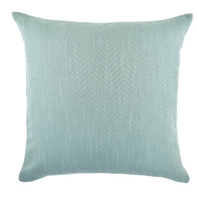 Chevron Matelasse Throw Pillow Size: 20