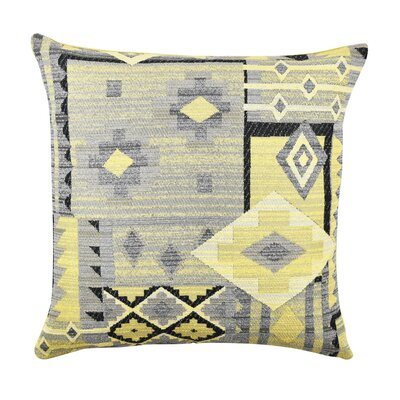 Aztec Throw Pillow Size: 20 H x 20 W x 6 D