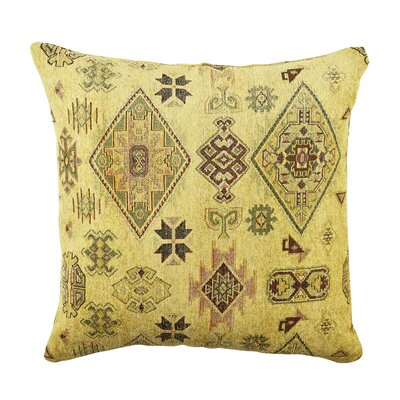 Aztec Throw Pillow Size: 18 H x 18 W x 6 D