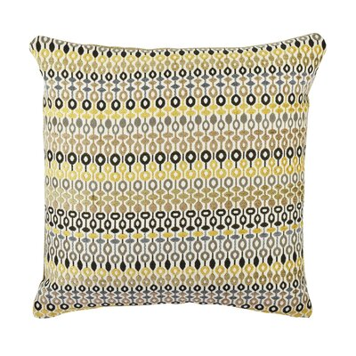 Bead and Reel Throw Pillow Size: 20 H x 20 W x 6 D