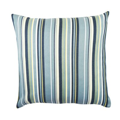 Stripe Throw Pillow Size: 18 H x 18 W x 6 D