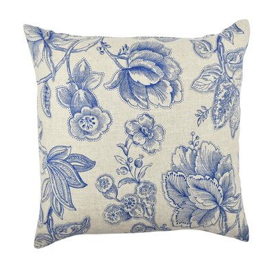 Floral Throw Pillow Size: 20 H x 20 W x 6 D