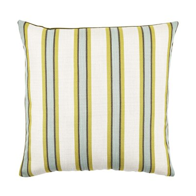 Stripe Throw Pillow Size: 20 H x 20 W x 6 D