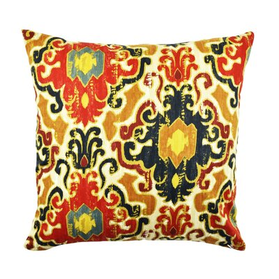 Ikat Throw Pillow Size: 18 H x 18 W x 6 D