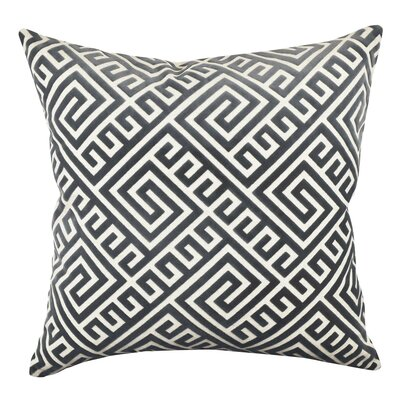 Geometric Fretwork Throw Pillow Size: 20 H x 20 W x 6 D