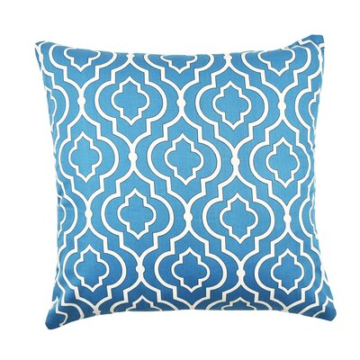 Moroccan Inspired Throw Pillow Size: 20 H x 20 W x 6 D