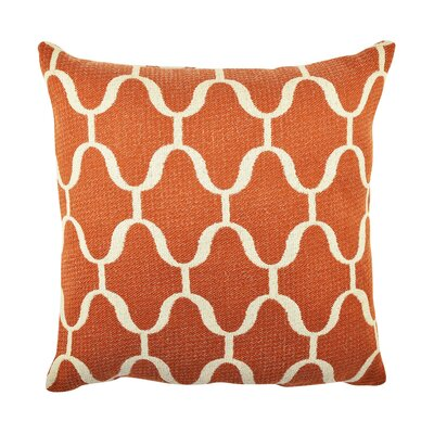Moroccan Inspired Throw Pillow Size: 18 H x 18 W x 6 D
