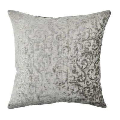 Damask Velvet Throw Pillow Size: 20 H x 20 W x 6 D