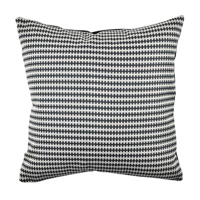 Geometric In My Own Style� Throw Pillow Size: 20 H x 20 W x 6 D, Color: Black