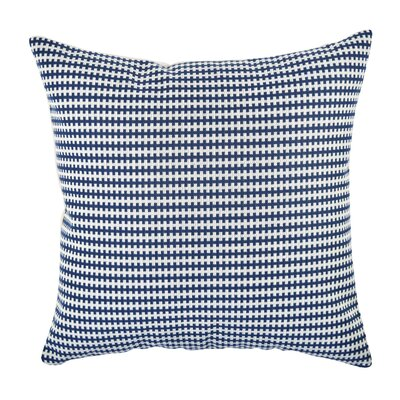 Geometric In My Own Style� Throw Pillow Size: 20 H x 20 W x 6 D, Color: Blue