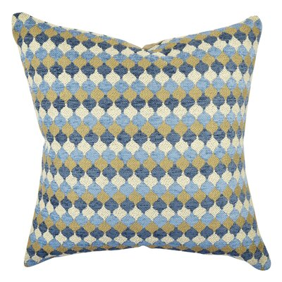 Ogee Contemporary Fabric Throw Pillow Size: 18 H x 18 W x 6 D
