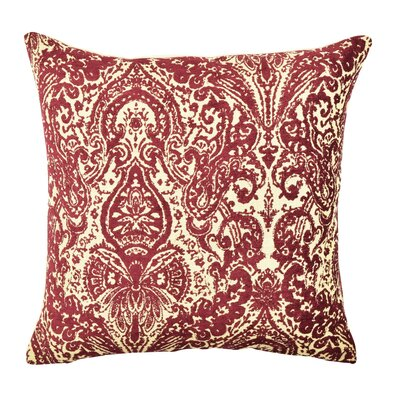 Damask Throw Pillow Size: 18 H x 18 W x 6 D