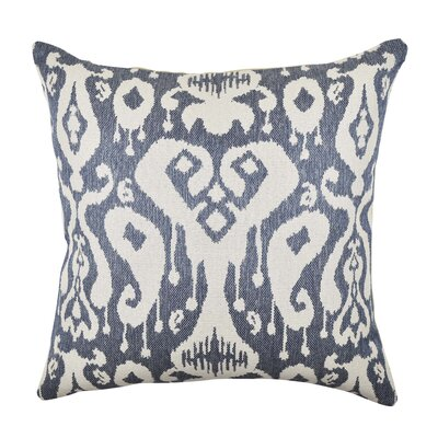 Ikat Inspired Woven Throw Pillow Size: 20 H x 20 W x 6 D
