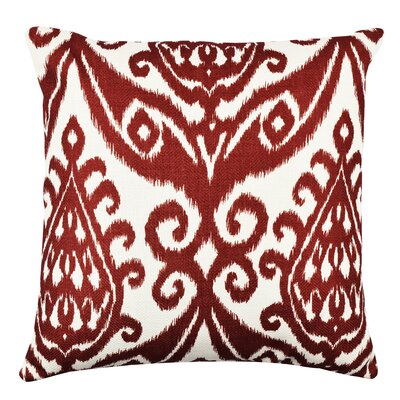 Ikat Rich Inspired Throw Pillow Size: 18 H x 18 W x 6 D
