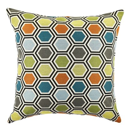 Ogee Throw Pillow Size: 20 H x 20 W x 6 D