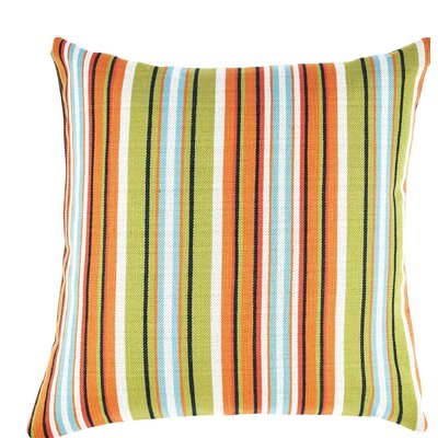 Bold Stripe Throw Pillow Size: 18 H x 18 W x 6 D