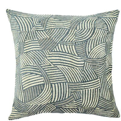 Jacquard Throw Pillow Size: 18 H x 18 W x 6 D