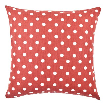 Polka Dot Throw Pillow Size: 18 H x 18 W x 6 D