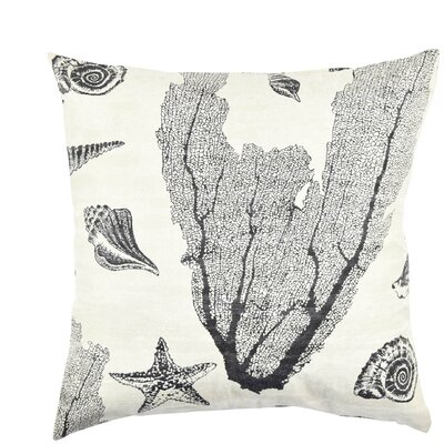 Coastal Jacquard Woven Throw Pillow Size: 20 H x 20 W x 6 D