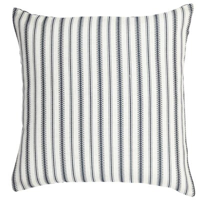 Stripe Throw Pillow Size: 18