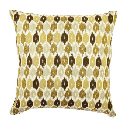 Ogee Designer Throw Pillow Size: 18 H x 18 W x 6 D, Color: Neutral Tones