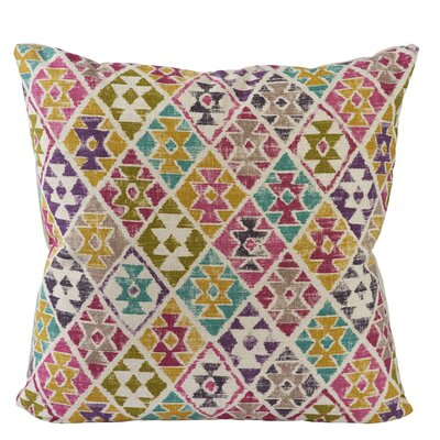 Designer Printed Throw Pillow Size: 20 H x 20 H x 6 D