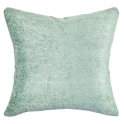 Terry Cloth Throw Pillow Size: 18 H x 18 W x 6 D, Color: Teal