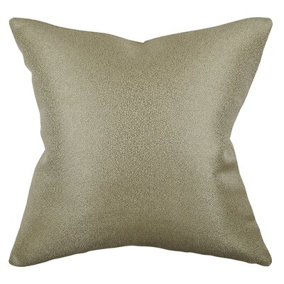 Chenille Throw Pillow Size: 20