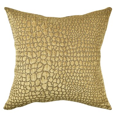 Animal Print Flocked Throw Pillow Size: 20 H x 20 W x 6 D