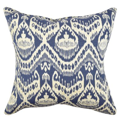 Ikat Throw Pillow Size: 20