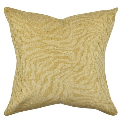 Zebra Stripes Throw Pillow Size: 18 H x 18 W x 6 D